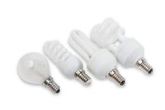 Various electric lamp Stock Photos