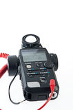 Various electronic exposure meter Royalty Free Stock Images