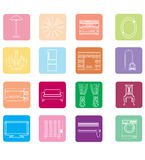 Various elements for the household Royalty Free Stock Image