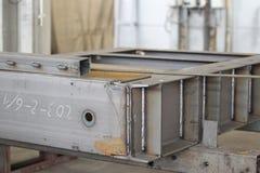 Various elements of metal structuresAP4U6917 Royalty Free Stock Image