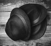 Various fashion hats Stock Photography