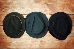 Various fashion hats Stock Image