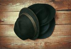 Various fashion hats Stock Photo