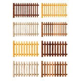 Various Fences Stock Photography
