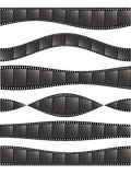Various film strips-1 Royalty Free Stock Images