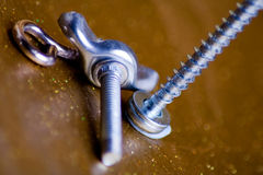 Various fixings Royalty Free Stock Photography