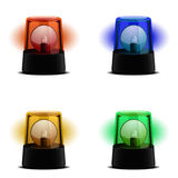 Various Flashing Lights Stock Photos