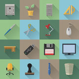 Flat icons. Various flat icons. File is in eps10 format Royalty Free Stock Photography