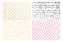 Various floral seamless pattern. Floral seamless pattern for backgrounds, fabric and more - eps 10 vector stock illustration