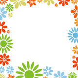 Various flowers frame Stock Photo
