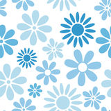 Various flowers seamless pattern Royalty Free Stock Photos