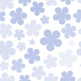 Various flowers seamless pattern Royalty Free Stock Images