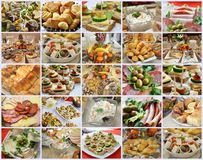Various food Royalty Free Stock Photos