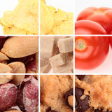 Various Foods - Collection stock photography