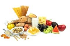 Various foods, royalty free stock photos