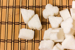 Various form of sugar Stock Images