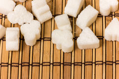 Various form of sugar Royalty Free Stock Images