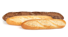Various of french baguette Royalty Free Stock Photo