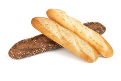 Various of french baguette Royalty Free Stock Photos