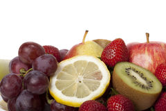 Various fresh fruit Royalty Free Stock Images