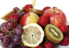 Various fresh fruit Royalty Free Stock Photos