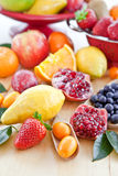 Various fresh fruits Royalty Free Stock Image