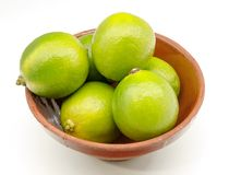 Various fresh lime Royalty Free Stock Image