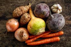 Various fresh raw vegetables Royalty Free Stock Photos