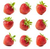 Fresh red strawberries Royalty Free Stock Images