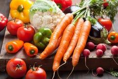 Various fresh vegetable Stock Photo
