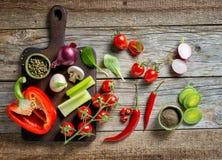 Various Fresh Vegetables Royalty Free Stock Image