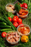 Various fresh vegetables Stock Photo
