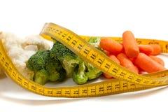 Various fresh vegetables on white Stock Photos