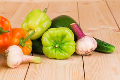 Various fresh vegetables. Royalty Free Stock Images
