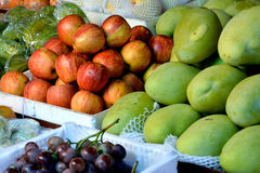 Various fruit in fresh. Various fresh fruit for maketing sales, shown as raw and fresh fruit, and healthy life style Stock Photo