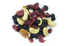 Various fruit and nuts Royalty Free Stock Photography