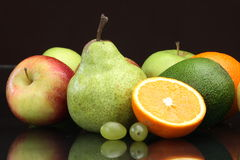 Various fruit still-life Royalty Free Stock Photography