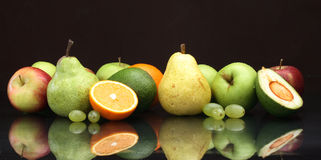 Various fruit still-life Royalty Free Stock Image