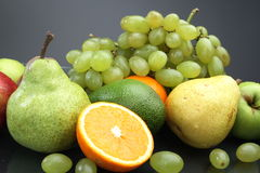 Various fruit still-life Royalty Free Stock Photos