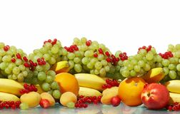 Various fruit still-life Royalty Free Stock Photo