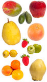 Various fruits Royalty Free Stock Photos
