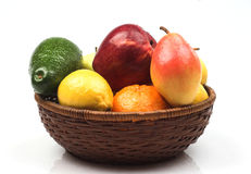 Various fruits. As a background Royalty Free Stock Photography