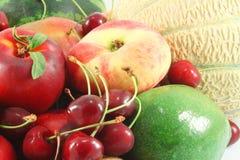 Various fruits, closeup Stock Photography