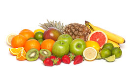 Various fruits Stock Photos