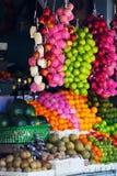 Various fruits at local market Royalty Free Stock Images
