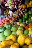 Various fruits at local market in Sri Lanka Stock Images