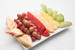 Various fruits Stock Photography