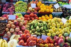 Various fruits on spanish market Stock Photography