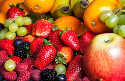 Various fruits Royalty Free Stock Images