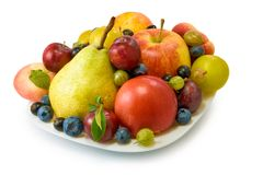 Various fruits and vegetables Royalty Free Stock Images